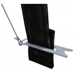 Pince à tuyau pour benne à béton