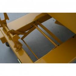 Basculement automatique par contact pour benne auto-basculante