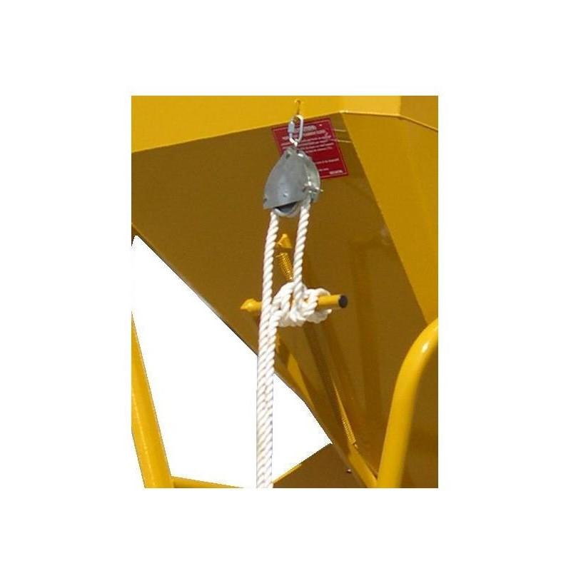 Commande auxiliaire de fermeture de trappe